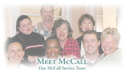 Meet The McCall Staff